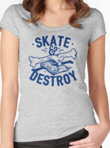 Skate and Destroy Women's Fitted Scoop T-Shirt