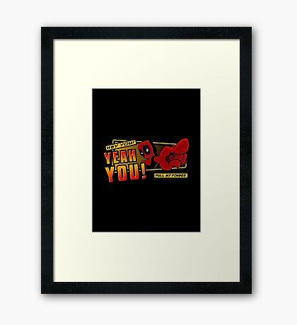 Heyyou Framed Print