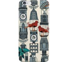 steampunk towers iPhone Case/Skin