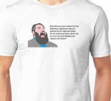 Brian Blessed & The Eddystone Lighthouse Unisex T-Shirt