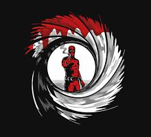 Superhero in Red Suit 007 Unisex T-Shirt