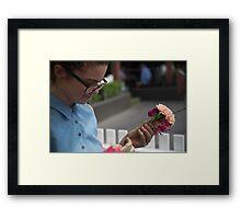 Flower Gaze Framed Print