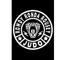 Rowdy Judo Photographic Print
