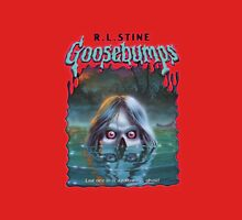 goosebumps swamp ghost Women's Fitted Scoop T-Shirt