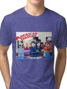 American Dad! Tri-blend T-Shirt