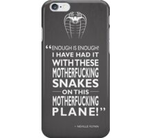Enough Is Enough iPhone Case/Skin