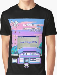 8-bit vaporwave aesthetics Graphic T-Shirt