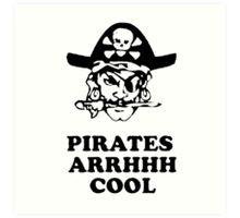 Pirates Arh Cool Art Print