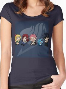 Chibi - Fairy Tail Women's Fitted Scoop T-Shirt