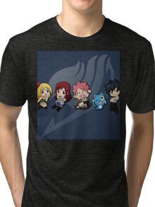 Chibi - Fairy Tail Tri-blend T-Shirt