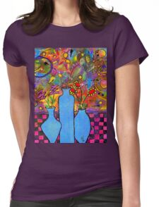 An Abstract Still Life Womens Fitted T-Shirt