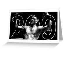 nate diaz 209 Greeting Card