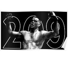 nate diaz 209 Poster
