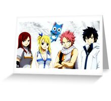 The Best Fairy Tail Greeting Card