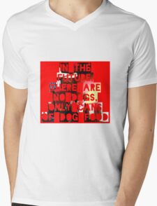 In The Future There Are No Dogs Mens V-Neck T-Shirt