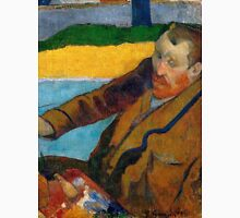 1888 - Gauguin -  Vincent van Gogh painting sunflowers Unisex T-Shirt