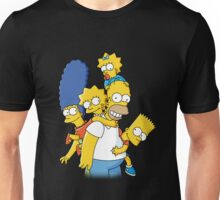 Happy simpson family Unisex T-Shirt