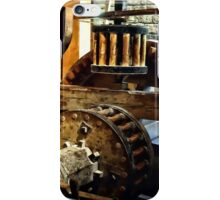 Gears in a Grist Mill iPhone Case/Skin