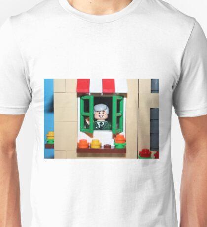 Lego Mister Fred Rogers  Unisex T-Shirt