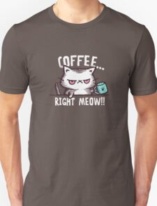 coffee cat Unisex T-Shirt