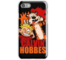 Tiger and Kids Boy its so Funny iPhone Case/Skin