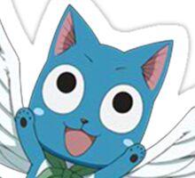 Fly Happy - Fairy Tail Sticker