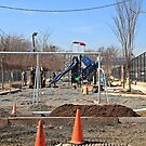 Installing A New Playground @ Pershing Field by pmarella