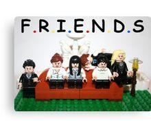 Lego Friends  Canvas Print