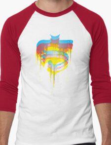 FACE OFF 3D Men's Baseball ¾ T-Shirt