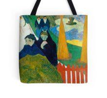 1888 - Gauguin - Arlésiennes (Mistral) Tote Bag