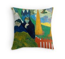 1888 - Gauguin - Arlésiennes (Mistral) Throw Pillow