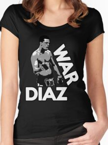 WAR DIAZ Women's Fitted Scoop T-Shirt