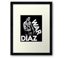 WAR DIAZ Framed Print