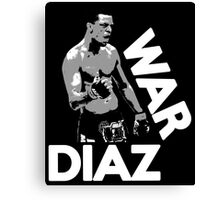 WAR DIAZ Canvas Print