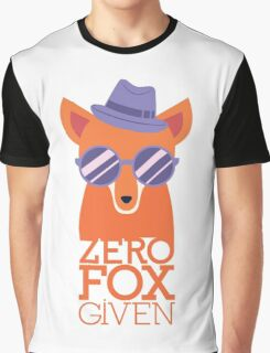 "Zero ""Fox"" Given Graphic T-Shirt"