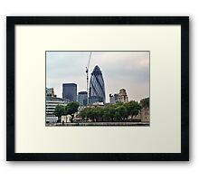 London Gherkin Framed Print