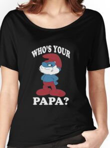 Papa Smurf Women's Relaxed Fit T-Shirt