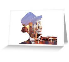 Frank Sinatra New York  Greeting Card