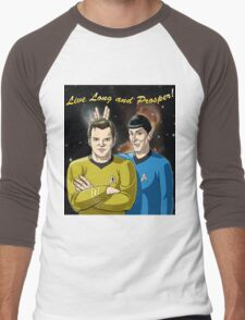 Star Trek - Kirk & Spock Men's Baseball ¾ T-Shirt