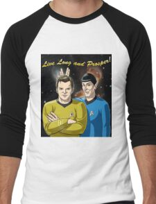 Star Trek - Kirk & Spock Men's Baseball ¾ T-Shirt