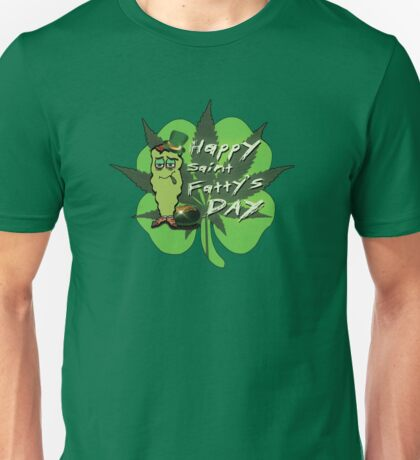 Happy Saint Fatty's Day Unisex T-Shirt