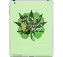 Happy Saint Fatty's Day iPad Case/Skin