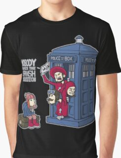 Police Box Nobody Spanish Inquisition Graphic T-Shirt
