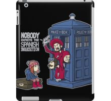 Police Box Nobody Spanish Inquisition iPad Case/Skin