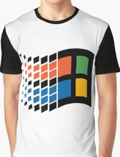 Vintage windows logo Graphic T-Shirt