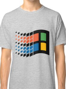 Vintage windows logo Classic T-Shirt