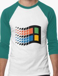Vintage windows logo Men's Baseball ¾ T-Shirt