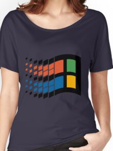 Vintage windows logo Women's Relaxed Fit T-Shirt