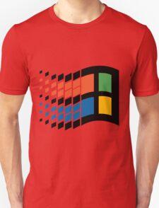 Vintage windows logo Unisex T-Shirt