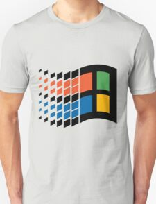 Vintage windows logo Unisex T-Shirt